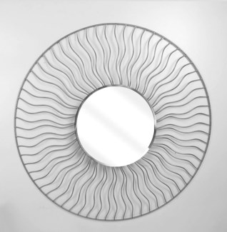 Sunburst Desk Mirror