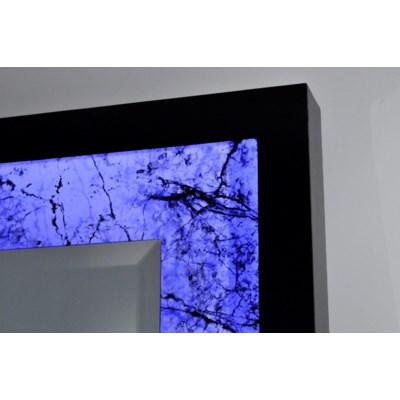 Rocklin Multi-Color Infinity Leaner Mirror Alabaster