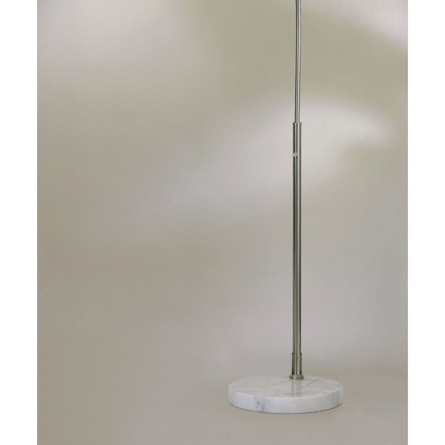 Float Arc Lamp White