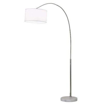 Float Arc Lamp White