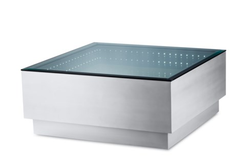 Havana Cocktail Table Square Silver