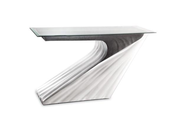 Super Seven Console Table Silver