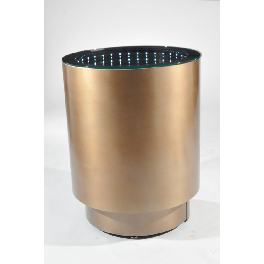 Prow Infinity End Table Dorado Gold