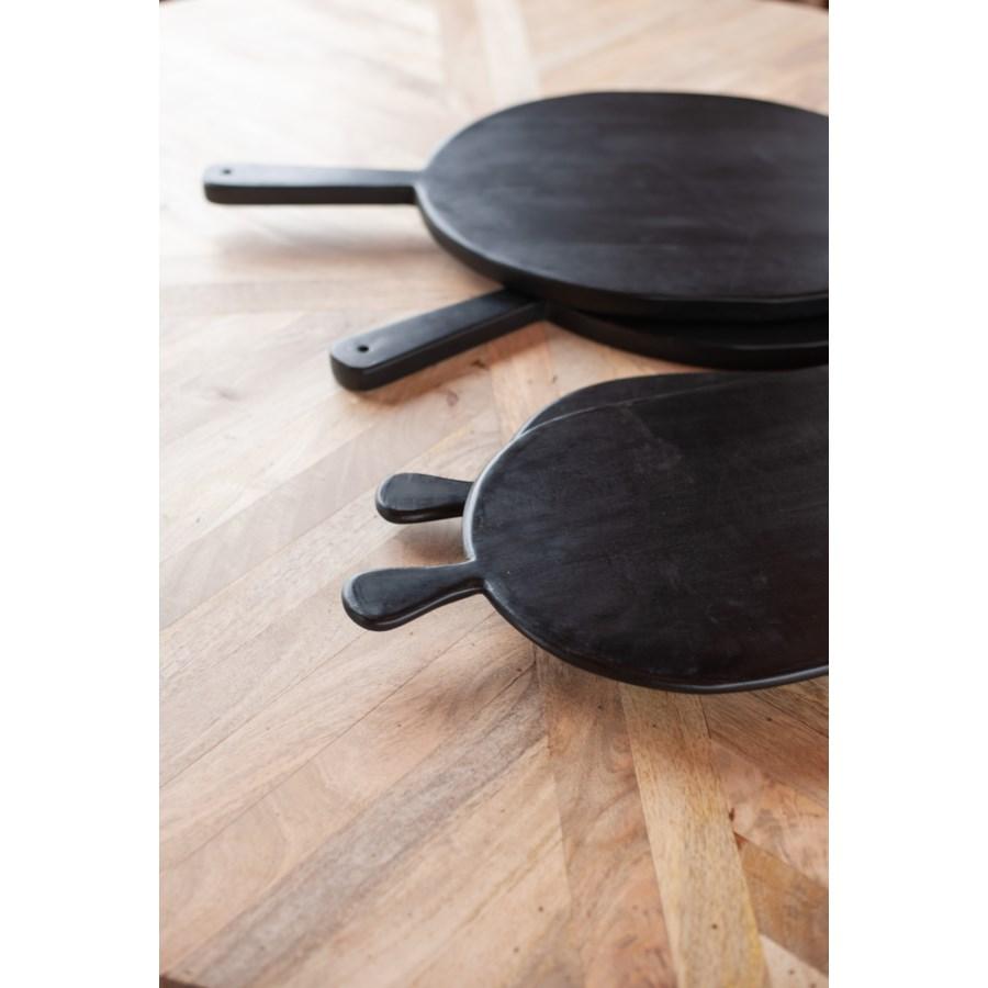 "Legna 16"" Wood Serving Boards-Set of 2"