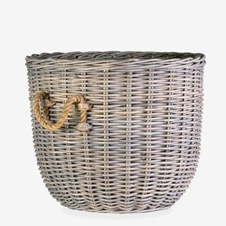 Sabrina Fire Wood Basket (24x24x20)