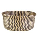 (LS) Collapsible Woven Basket - Brown