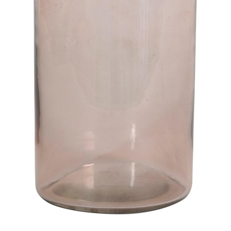 """13.5"""" H Slender Glass Vase - Amber(2pc/min)"""