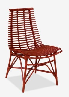 (LS) Franklin Side Chair - Red (19x22x42)