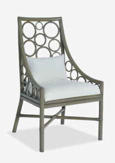 (LS) Roman Side Chair - Putty Grey Color(24x25x41.5)