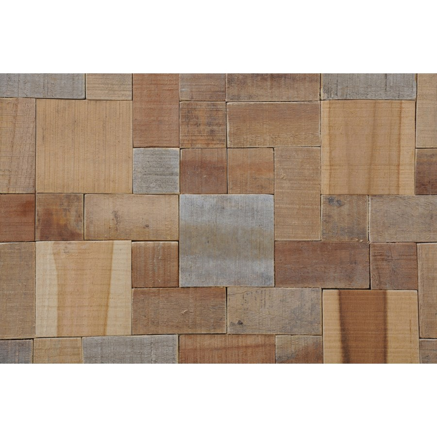 Kayu Mosaic - Large (8.27X8.27X0.39) = .47 sqft