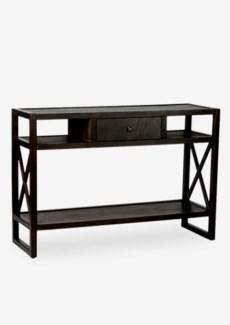 Durban Brown Rectangular Console Table - KD(46 X 15 X 31.5)