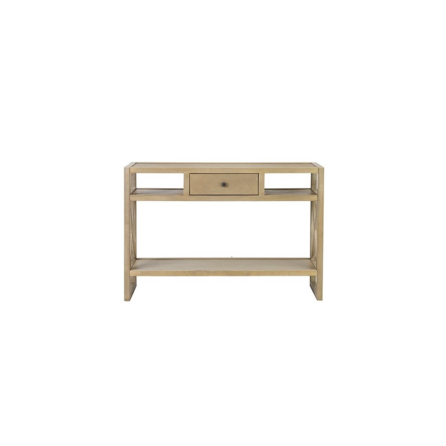 Durban Grey Rectangular Console Table - KD ..(46x15x32)