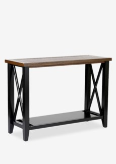 Marks Brown Rectangular Console Table - KD(42 X 15.75 X 30)