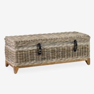 Bayside Coffee Table with Storage (47x18x18)