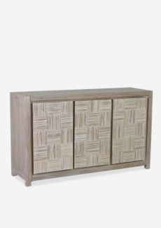 (LS) Colton Sideboard with 3 doors (60X18X35)..