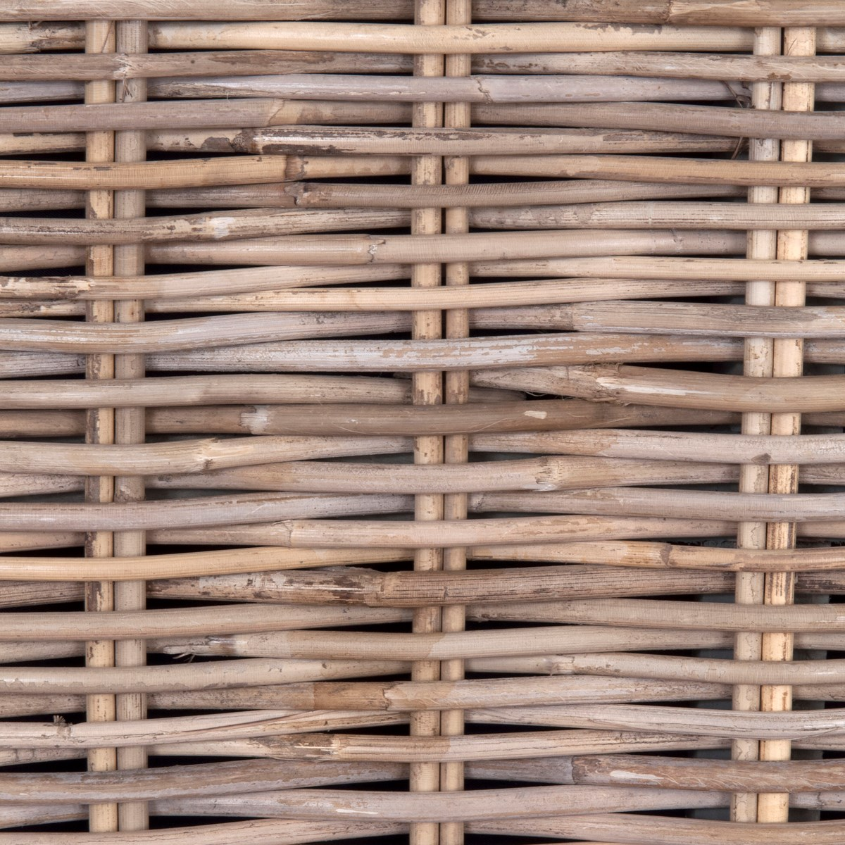 Seascape Driftwood Rattan Headboard