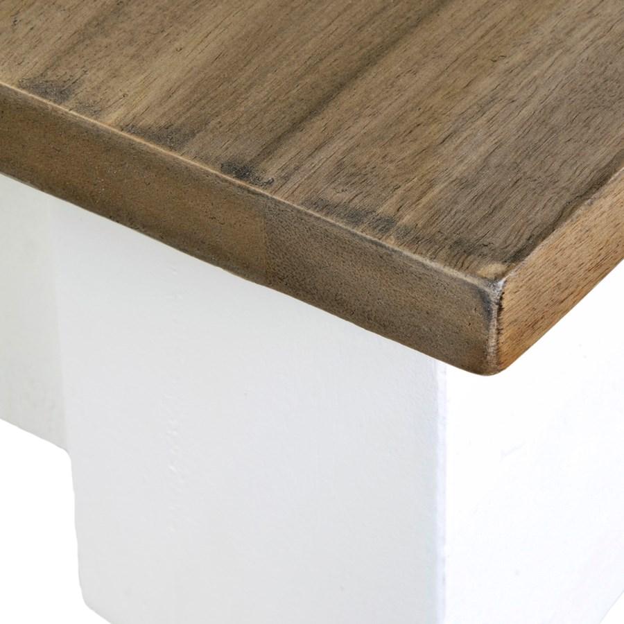 Simone Dining Table-White (71X39X30)