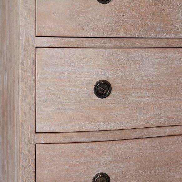 Joan 3 Drawer Dresser, MC Grey