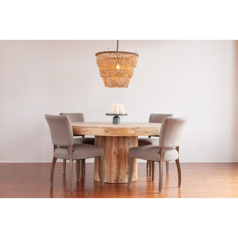 """Maison 60"""" Round Dining Table"""