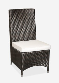 (LS) Cossy Side Chair (Prussian Dark-Outdoor) (18.5x28x39.5)..