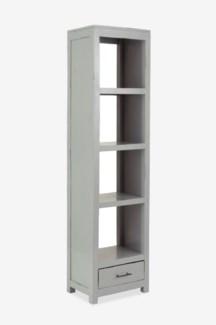Devie Book Case - Light Grey (20x14x76)