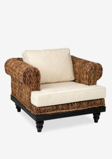 Tropical Club Chair Abaca Small Astor (39x33x26)