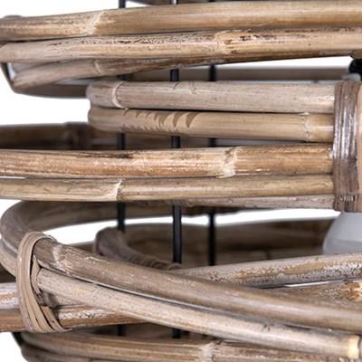 Oceola Drum pendant -M-Kuboo Grey