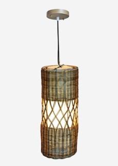 (LS) Willow Pendant -1 bulb light (8X8X20)