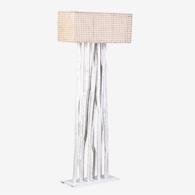 Jungle floor lamp white with rectangular shade 27x13x70 2 boxes jungle floor lamp white with rectangular shade 27x13x70 2 boxes per piece aloadofball Gallery