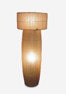 "(LS) Cabana ""A"" Standing Lamp-Natural (24x24x63)"