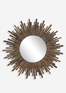 """(SP) 35"""" Twig Sunburst Round Mirror in Natural..(35x2x35)"""