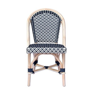 Camelot Outdoor Chair - Black/White
