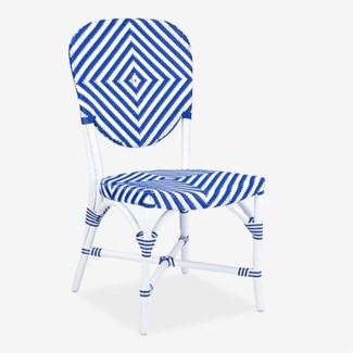 Hamlet Outdoor Chair - Blue/White