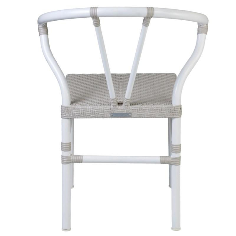 Maluku Outdoor Chair ..(23.25x22.5x31.75)