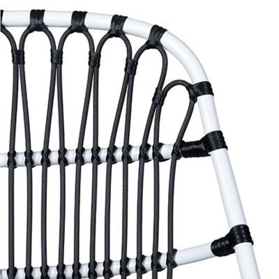 St. John Outdoor Chair - White/Black