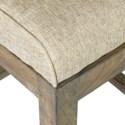 Davis Counter Stool - Grey Wash..(18x20.5x40)