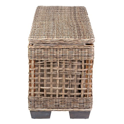 Milton Bench with shoe storage