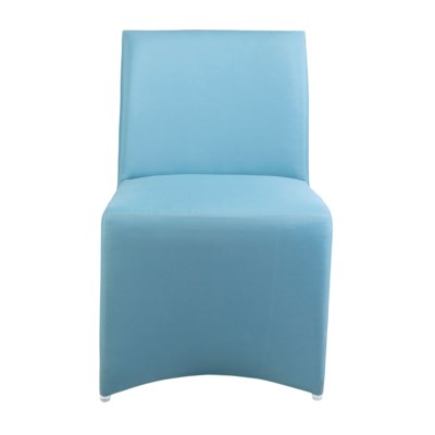 Outdoor Upholstered Chair - Blue Color MOQ 2