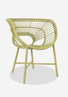(LS) Origin Outdoor Chair-Lime Green (25,5x23x33)