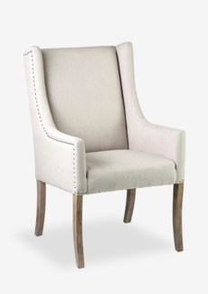 (LS) Poppy Upholstered Arm Chair (29.5x24x42)
