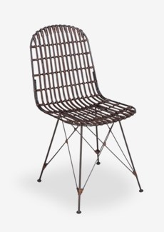 (SP) Jane Dining Chair-Brown (18X19.5X34)..