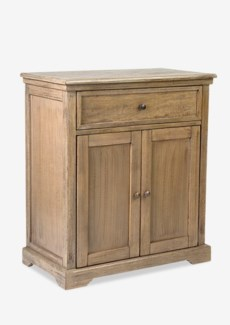Naomi Cabinet with 2 Doors and 1 Drawers-Grey  (29.5X16X33.5)....