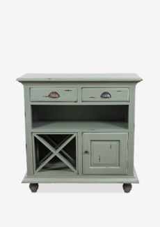 (LS) Fleming wine cabinet  (34X15X34)