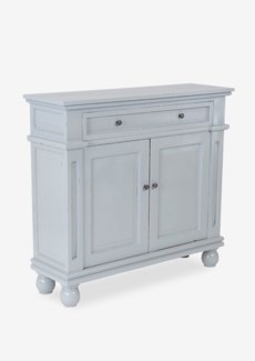 (SP) Marcy Cabinet with 2 Doors and 2 Drawers - Fog (40x12.5x36)