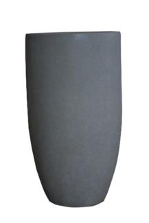 (LS) Palm Planter W/Powder Stone (20X20X36)