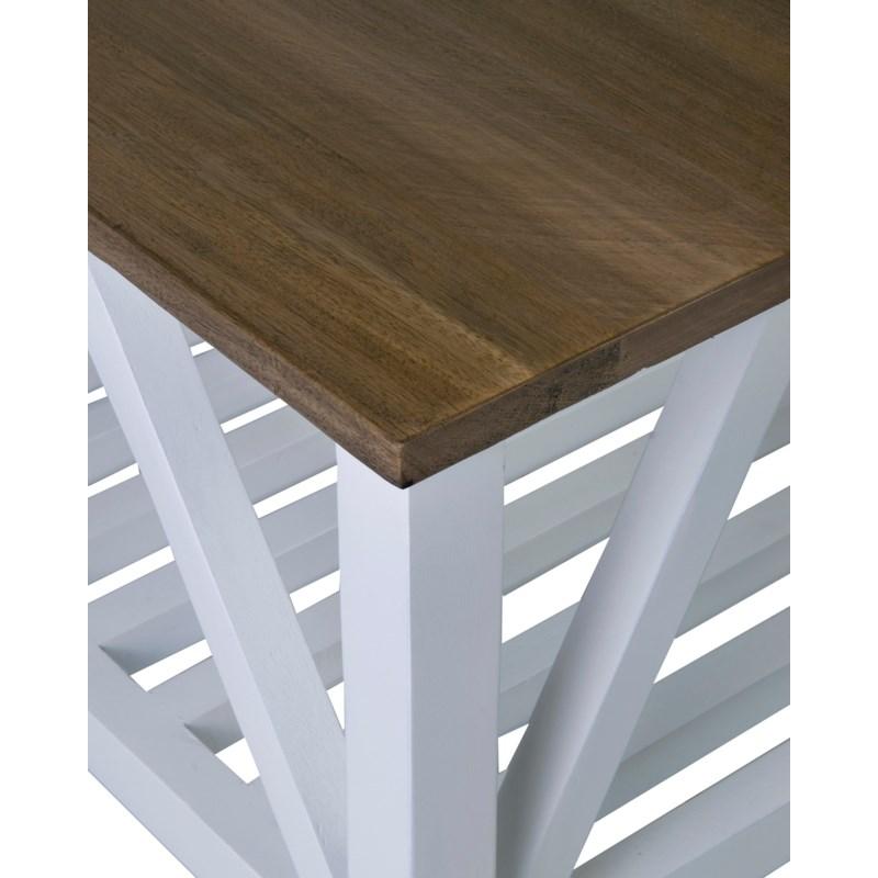 """(LS) Townson 46"""" Coffee Table W/Shelf..(46X26X18).."""