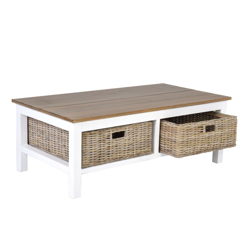 Trenton Coffee Table 49x26x18 Coffee Cocktail Jeffan