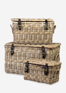 Marine Baskets - Set of 3 (30x19x19/26x15x15/19x11x11)
