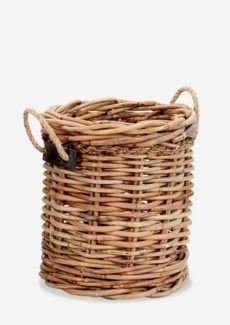 (LS) Leeton Round Basket - Medium(18X18X20)