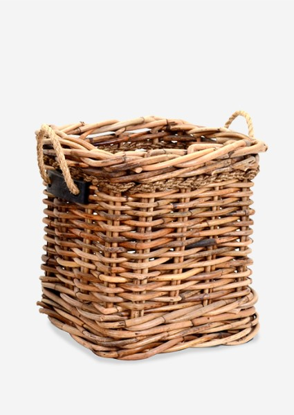 (SP) Leeton Square Basket   Small (18X18X20)